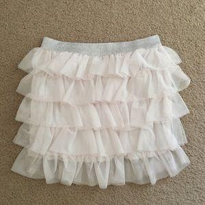 H&M tulle short skirt